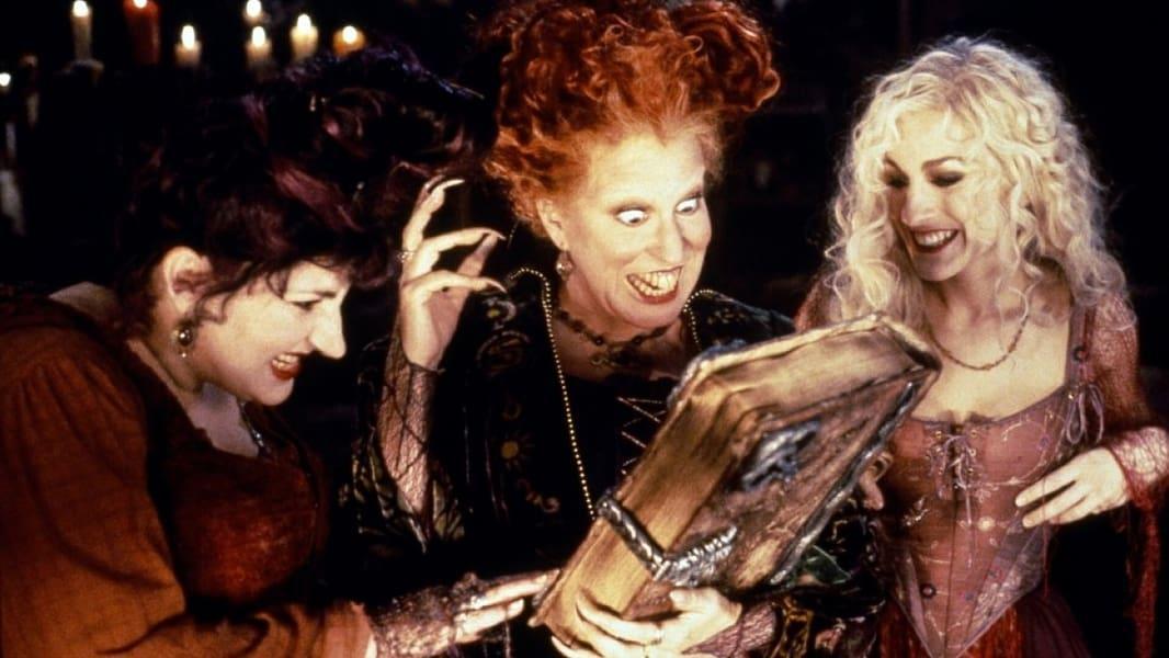 The Sanderson Sisters in Hocus Pocus